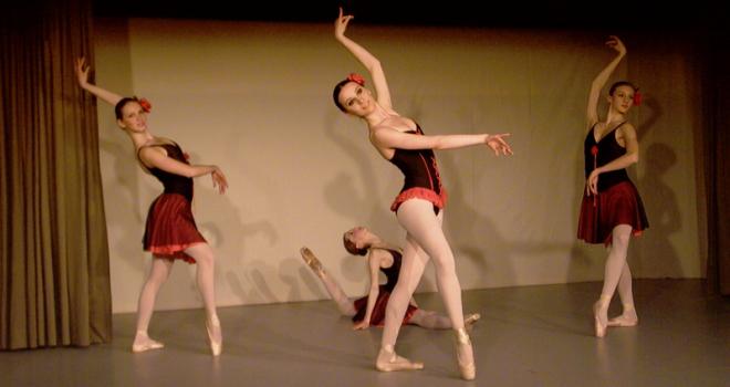 Hobbykurse, Ballettgruppe,  Ballettschule, Ballettakademie, München