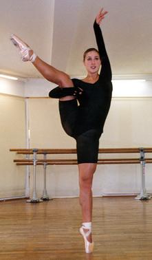 Theresa,  Hobbykurse, Ballettschule, Ballettakademie, München